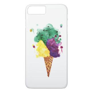 Cool Ice Cream 3 Scoops! iPhone 8Plus/7 Plus Case