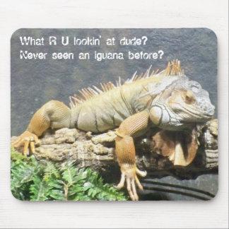 Cool Iguana Mouse Pad