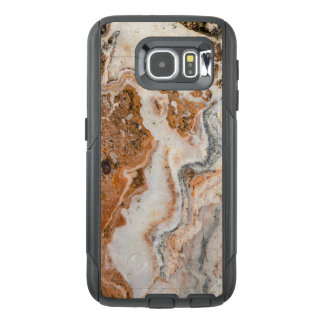 Cool Image Of Brown & Beige Marble Stone OtterBox Samsung Galaxy S6 Case