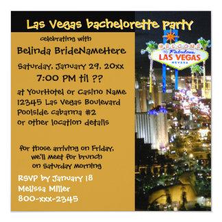 Cool Invites for Las Vegas Bachelorette