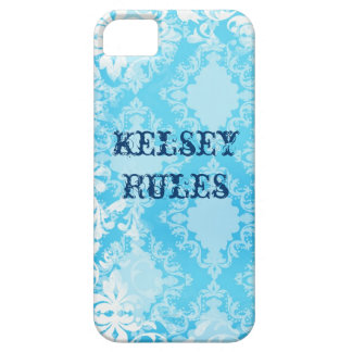 Cool iPhone 5 Cases for Girls Distressed Blue