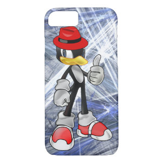 Cool iPhone 7 Cases - Penguin With Red Hat