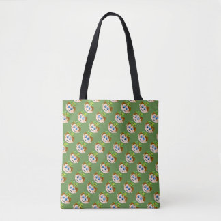 Cool Irish Face Graphic Bag For Shopping