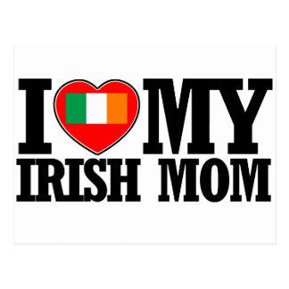 cool Irish  mom designs Postcard