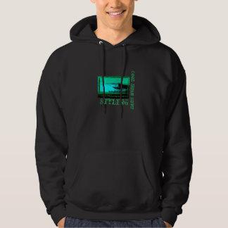 Cool Irish surf hoodie for men