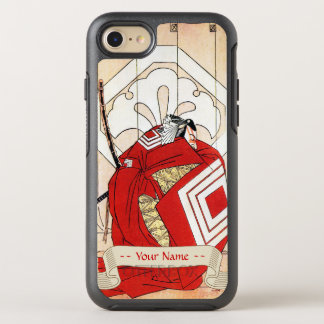 Cool japanese legendary hero samurai warrior art OtterBox symmetry iPhone 7 case