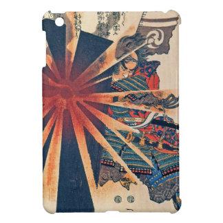 Cool Japanese Samurai Warrior Blistering Sun Art iPad Mini Covers