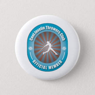 Cool Javelin Throwers Club 2 Inch Round Button