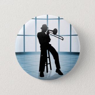 Cool Jazz 1 2 Inch Round Button
