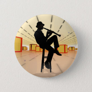 Cool Jazz 3 2 Inch Round Button