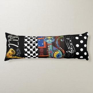 Cool Jazz Cat - Body Pillow