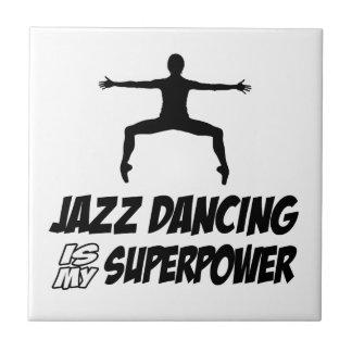 Cool JAZZ DANCING designs Ceramic Tiles