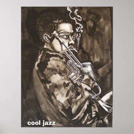 cool jazz poster
