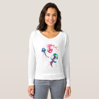 Cool Jellyfish - Off the Shoulder Shirt