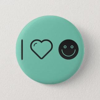 Cool Joy Emoticons 2 Inch Round Button