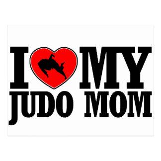 cool Judo  mom designs Postcard