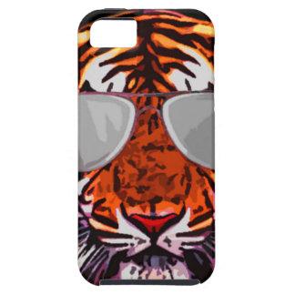 cool jungle cat round iPhone 5 case