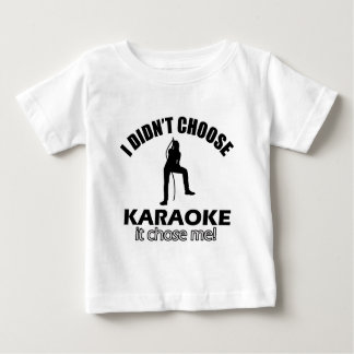 Cool Karaoke designs Baby T-Shirt