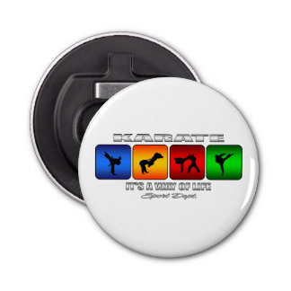 Cool Karate It Is A Way Of Life Bottle Opener