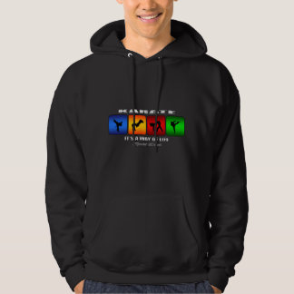 Cool Karate It Is A Way Of Life Hoodie