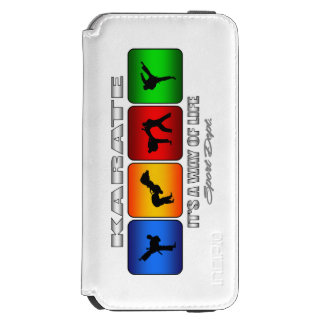 Cool Karate It Is A Way Of Life Incipio Watson™ iPhone 6 Wallet Case