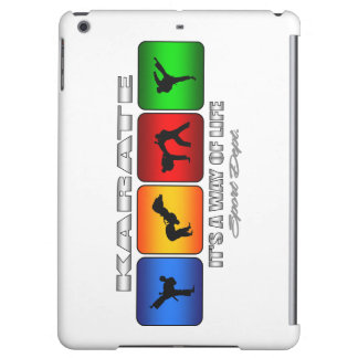 Cool Karate It Is A Way Of Life iPad Air Cases