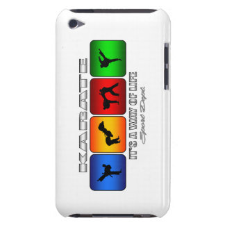 Cool Karate It Is A Way Of Life iPod Touch Cover