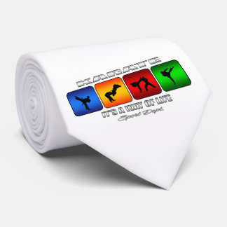 Cool Karate It Is A Way Of Life Tie