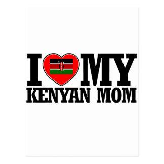 cool Kenyan  mom designs Postcard