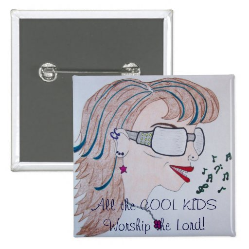 Cool Kid Button