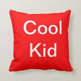 cool kid throw pillow