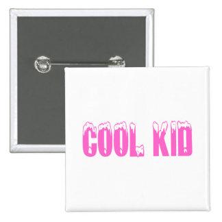 Cool Kid (Pink) Pinback Button