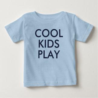 Cool Kids Play | Kids Blue Cute Baby Tshirt