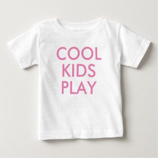 Cool Kids Play | Kids Cute Baby T-shirt