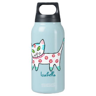 Cool Kitty Kids Insulated Water Bottle