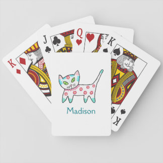 Cool Kitty Kids Poker Deck