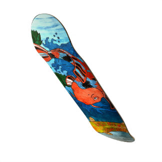 Cool Koi Fish Skateboard - Custom Sizes