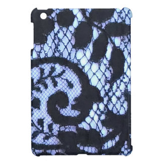 Cool lace detail Gothic fabric print iPad Mini Case