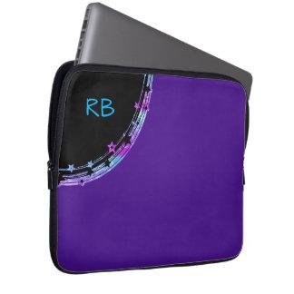 Cool Ladies Monogram Laptop Zipper Case Laptop Sleeve
