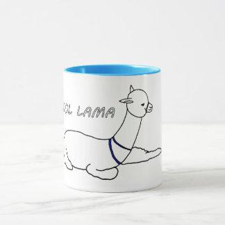 cool lama mug