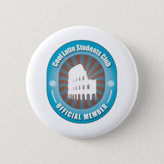Cool Latin Students Club 2 Inch Round Button