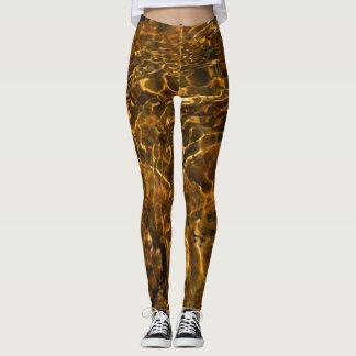 """Cool leggings """"Gold moment"""""""