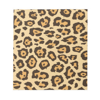 Cool Leopard Print Pattern Gifts for Her Notepad