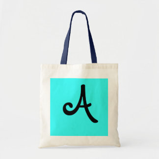 "cool letter ""A"" Tote Bag"