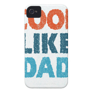 cool like dad Case-Mate iPhone 4 cases