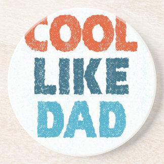 cool like dad coasters