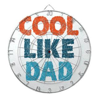 cool like dad dartboard