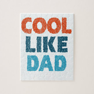 cool like dad jigsaw puzzle
