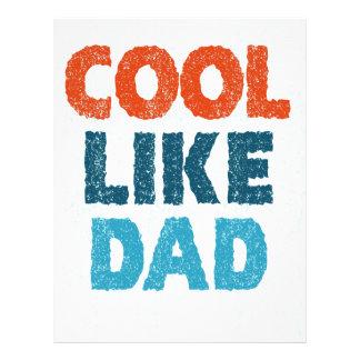 cool like dad letterhead template