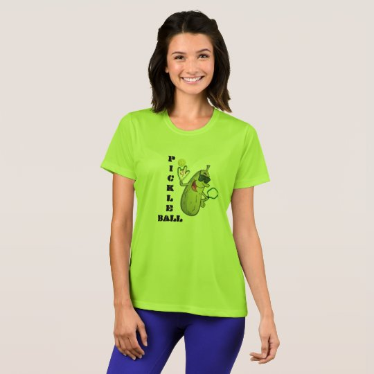 Cool Lime Green Pickleball T-Shirt